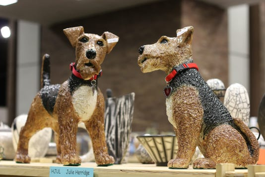 Aa Potters Ceramic Dogs By Julie Herridge Of Royal Oak