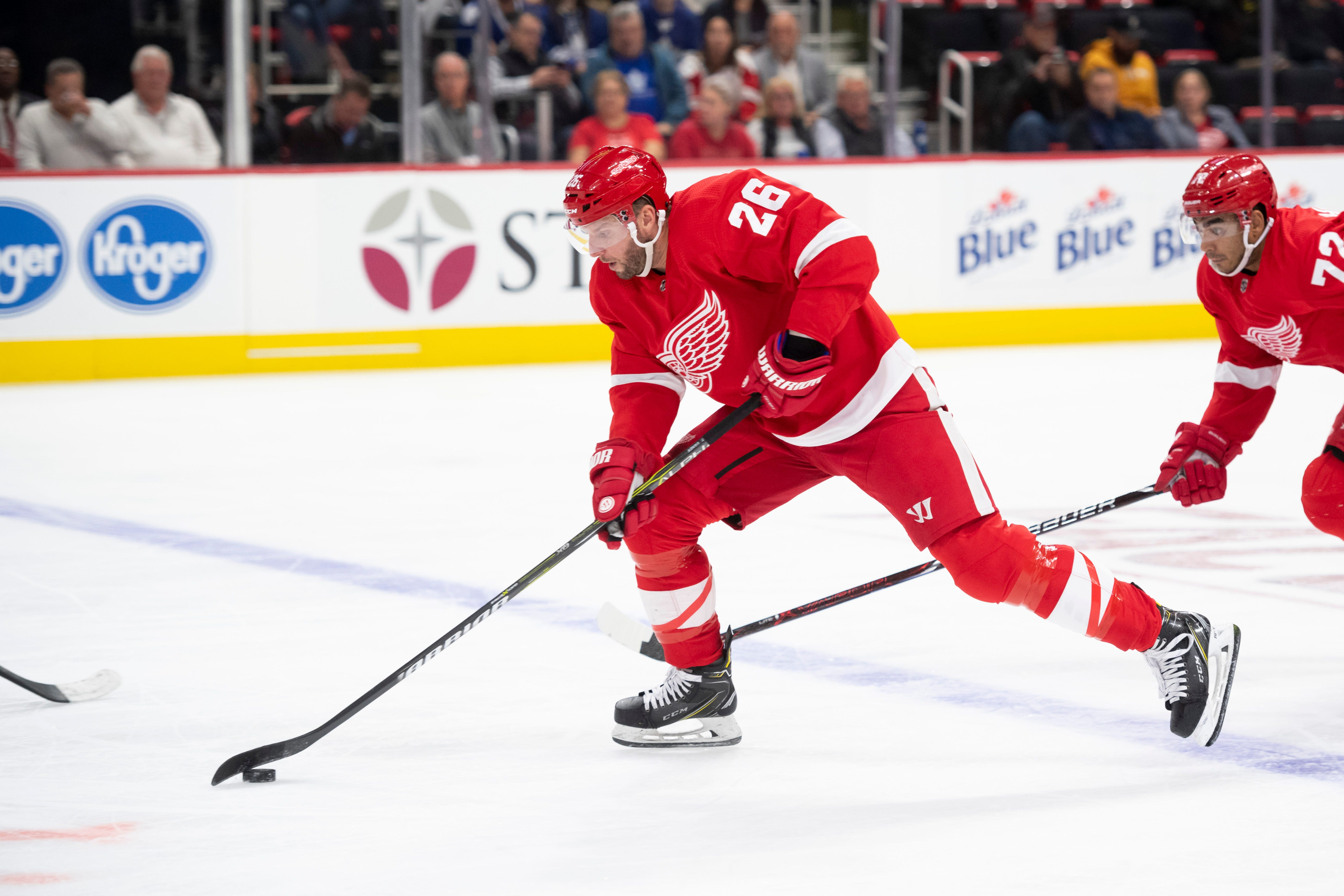 Detroit Red Wings' Thomas Vanek Finally Returns To Form After Injury