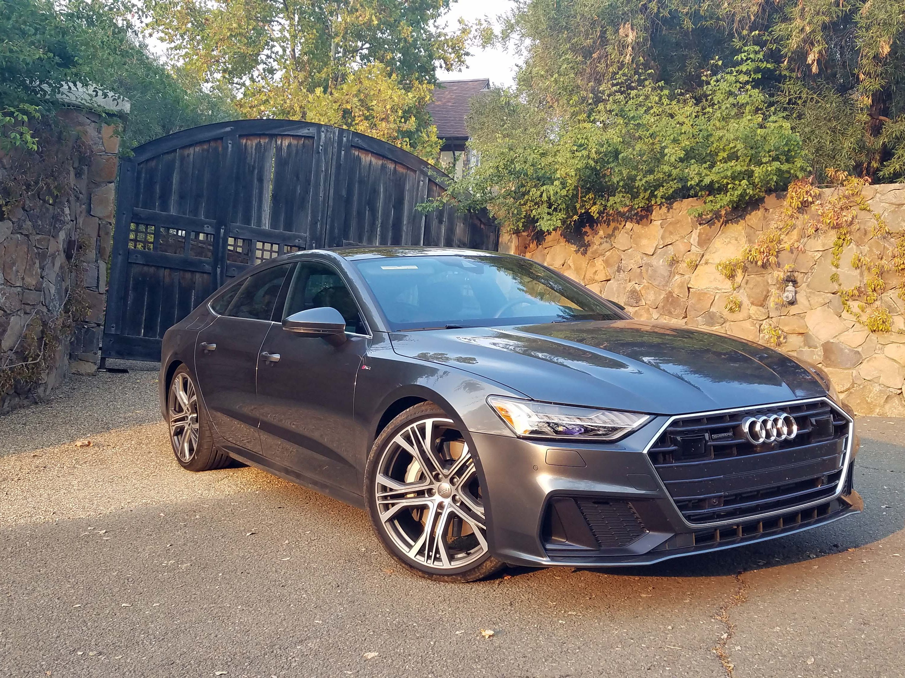 The Audi A7 was an instant design icon when it debuted in 2010. For its second act, Audi maintains the familiar sportback look in 2019 while giving the car a more muscular stance, lots of tech and 21-inch wheels.