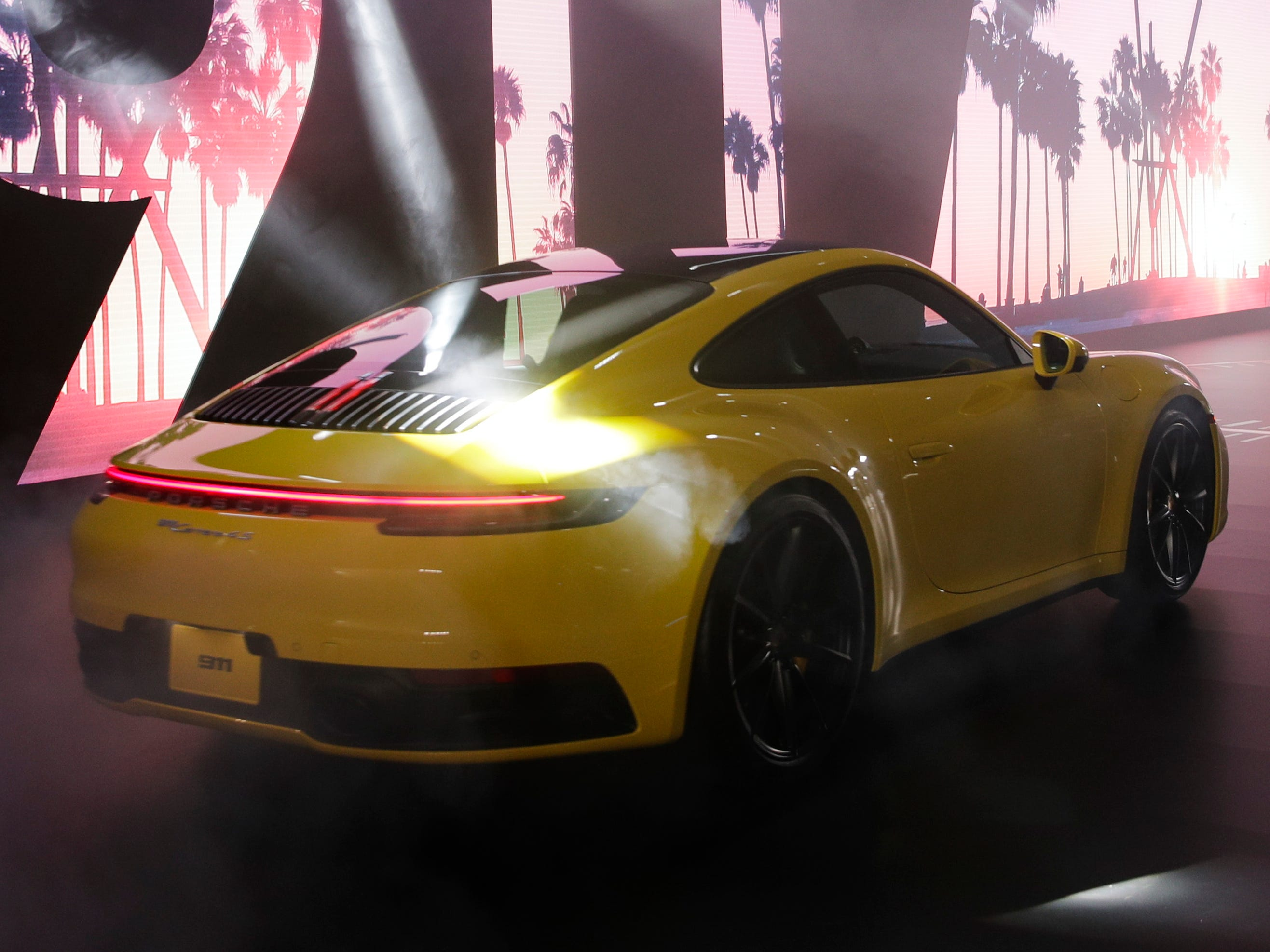The 2020 Porsche 911 is unveiled at the Porsche Experience Center in Los Angeles ahead of the LA Auto Show. It packs 23 more horsepower and more tech over the last gen.
