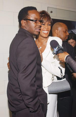 Bobby Brown and Whitney Houston in 2004.