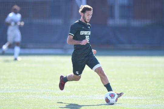 Senior midfielder Giuseppe Barone returns to Michigan State, which advanced to the NCAA College Cup last year.