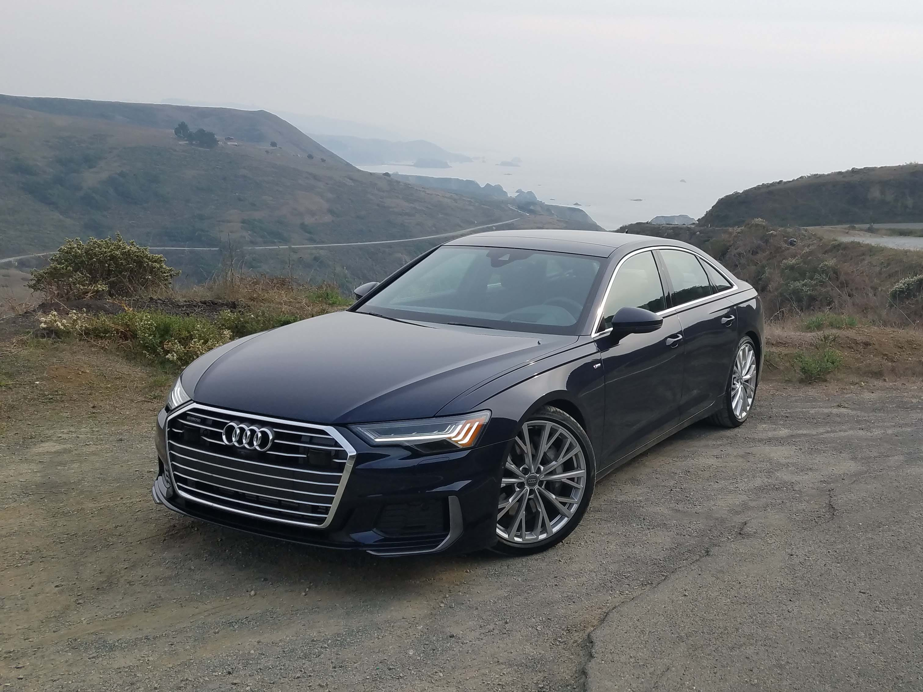 The Audi A6, above, is the basis for the Audi A7 drama queen with the same chassis, engine and interior. The A7 gets a unique wardrobe, but the cheaper A6 is the volume seller.