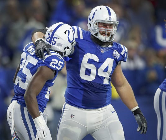 Indianapolis Colts Battle The Buffalo Bills In Nfl Action