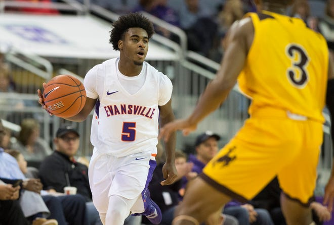 Aces' freshman guard Shamar Givance owns an 18:8 assist-to-turnover ratio this season.