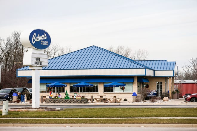 The new Culver's restaurant proposed in Rib Mountain could look similar to this location in Fond du Lac at 81 W. Pioneer Road.