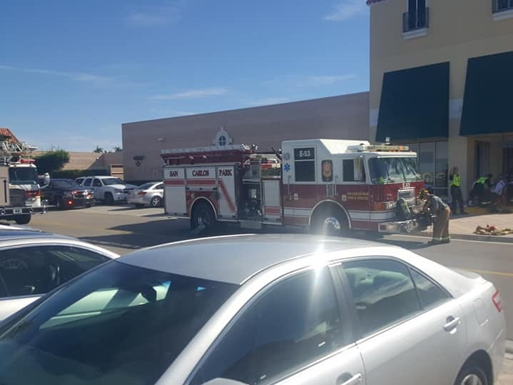 Crews from Estero Fire Rescue, San Carlos Park, and Bonita Springs Fire responded  to Miromar Outlets for a fire that began in the Michael Kors shop shortly after 11 a.m. Thursday.