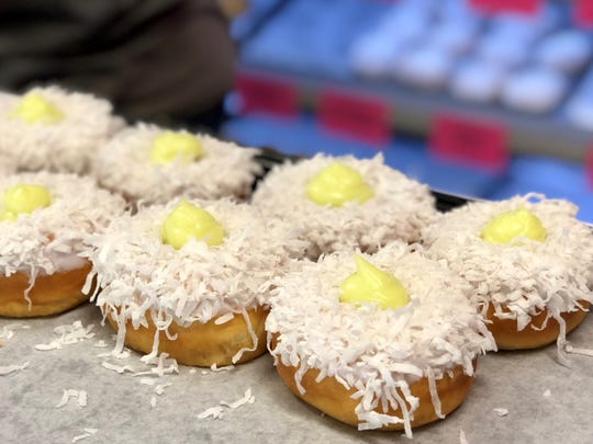 Divine Donuts opened Nov. 22 in south Fort Myers. The shop makes more than 200 styles of yeast and cake doughnuts from scratch, offering 40 to 50 unique flavors each day.