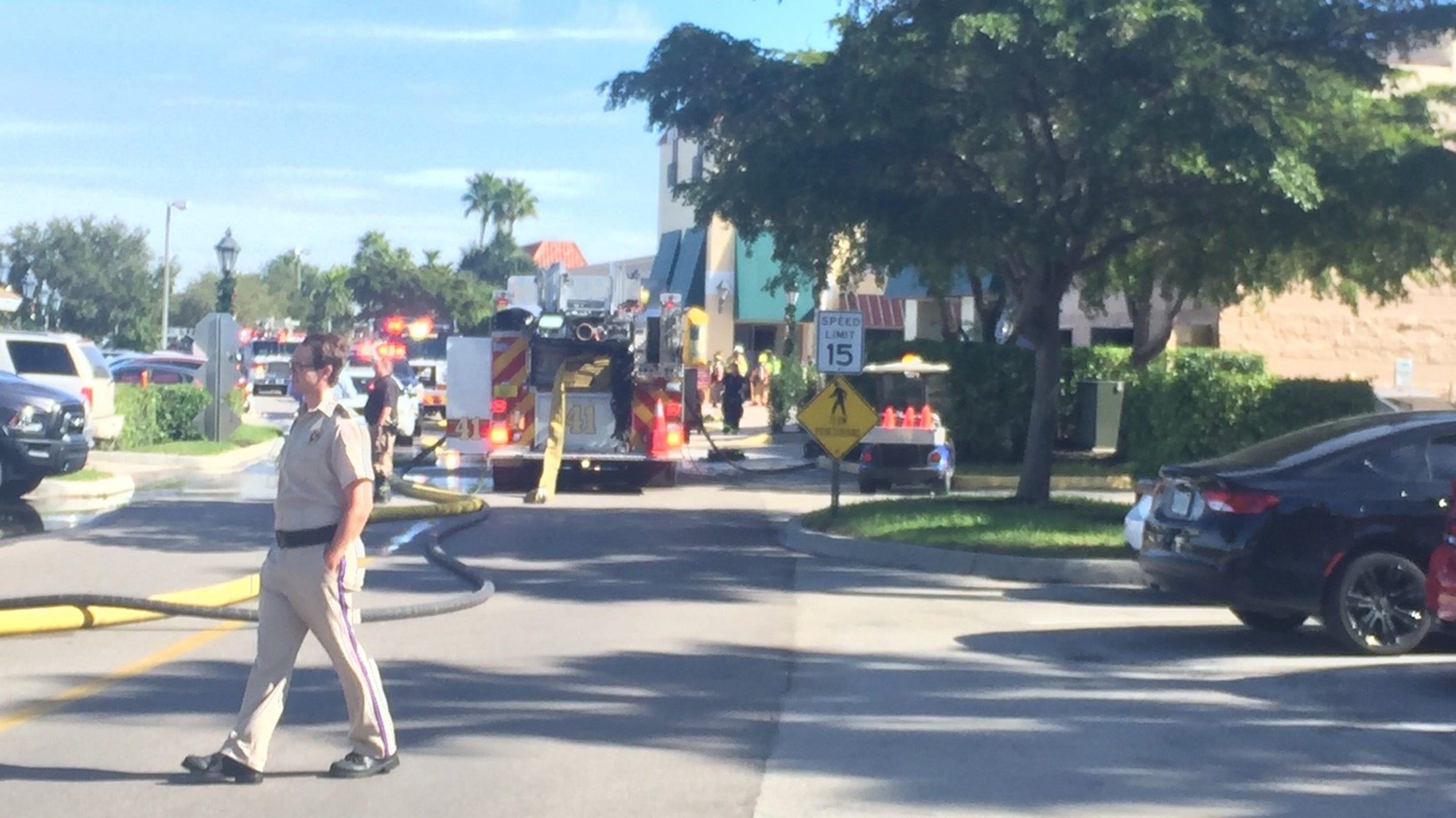 Fire at Miromar Outlets in Estero closes Michael Kors and