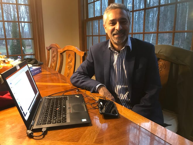 Joe Bashta's Hobart-based business provides artificial intelligence services to businesses and governments around the world.