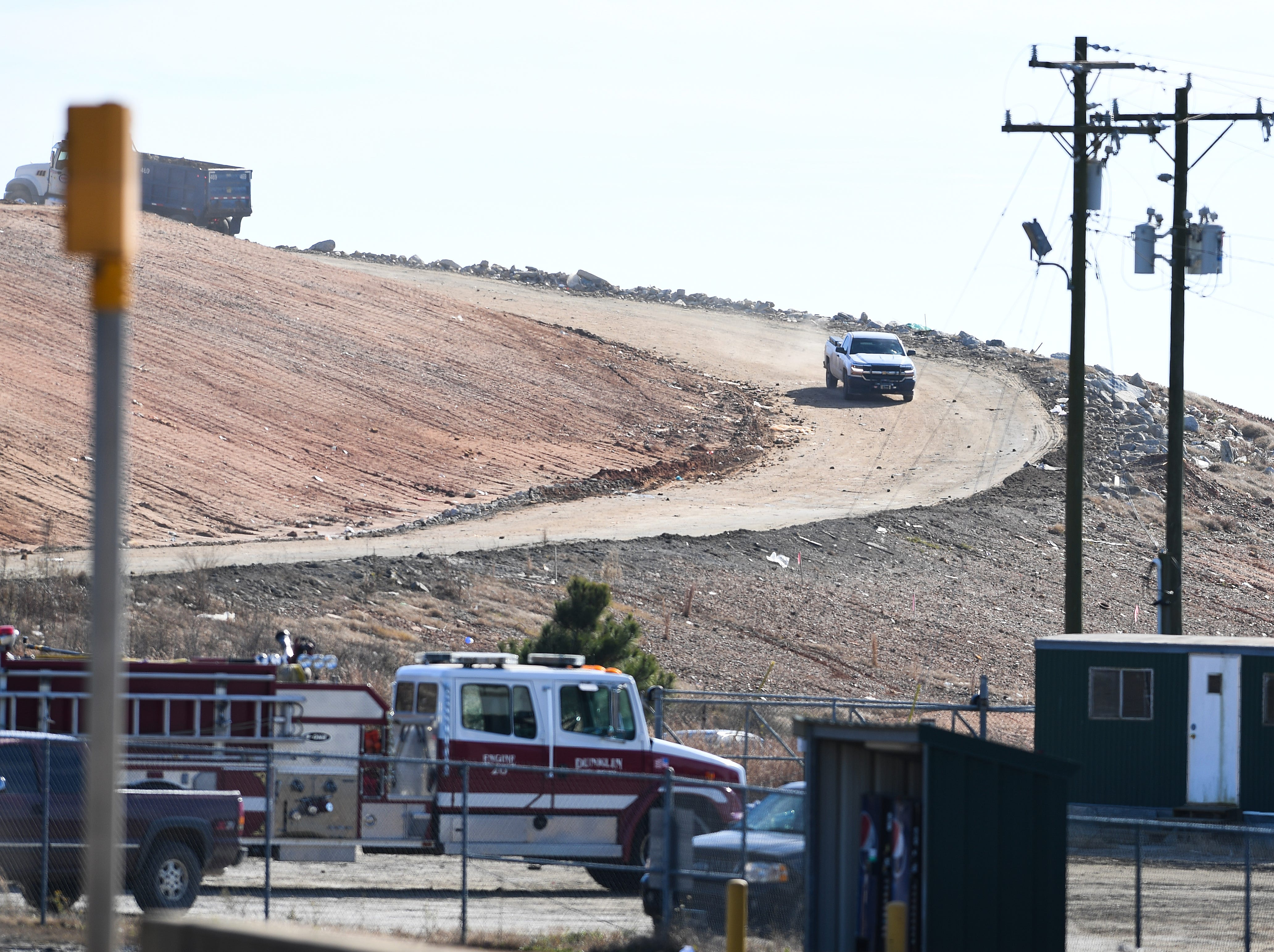 Twin Chimneys Landfill in Greenville County where an infant body was found Thursday, November 29, 2018.
