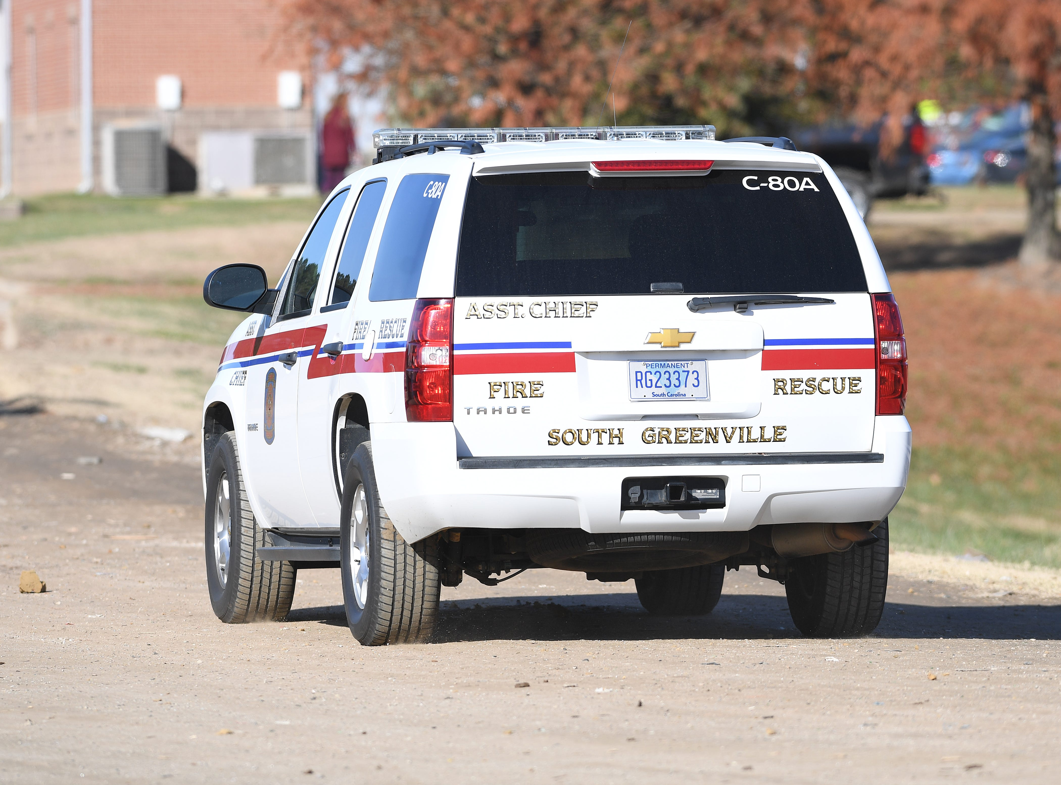 Authorities at the Twin Chimneys Landfill in Greenville County where an infant body was found Thursday, November 29, 2018.