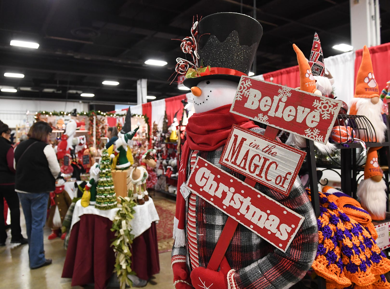 The 48th annual Holiday Fair at the Greenville Convention Center Thursday, November 29,  2018.