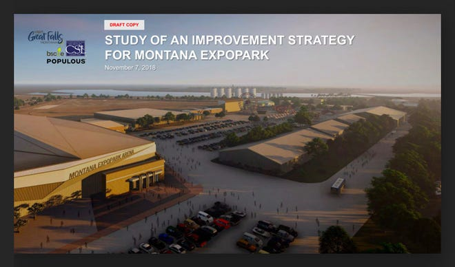 Screen grab of the Study of an Improvement Strategy for Montana Expo Park