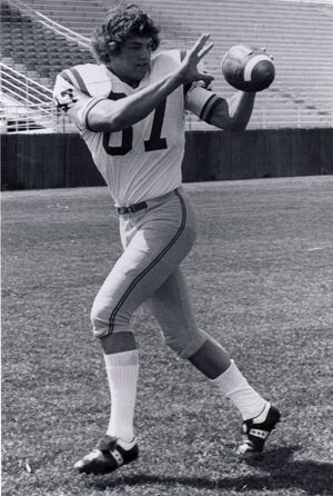 Butch Damberger was an all-Big Sky Conference tight end at Montana State some 40 years ago.