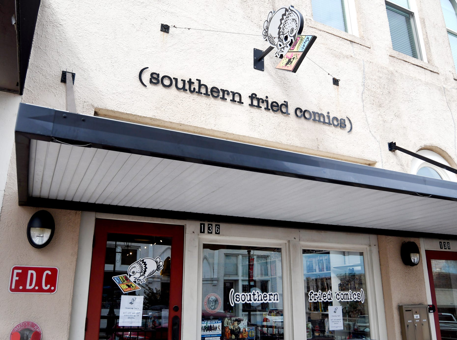 Southern Fried Comics, one of only two comic book stores in Hattiesburg, is closing Dec. 30.