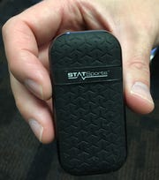 GPS device worn by Butler players.