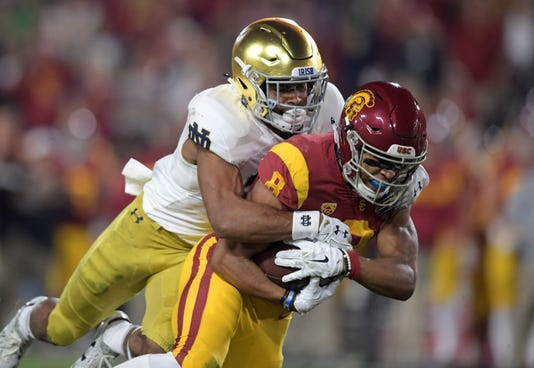 Ncaa Football Notre Dame At Southern California
