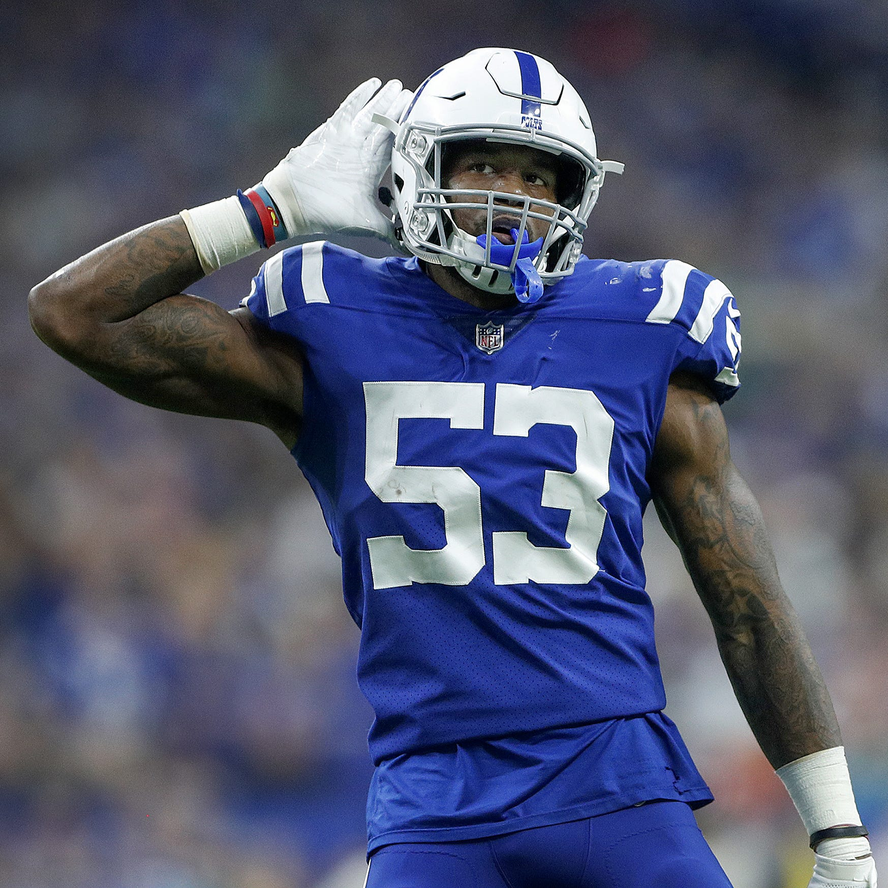 Colts' Darius Leonard has one word for Pro Bowl selectors, Twitter has more