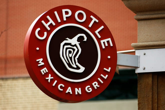 Chipotle offering free delivery on orders of $10 or more through Jan. 7.