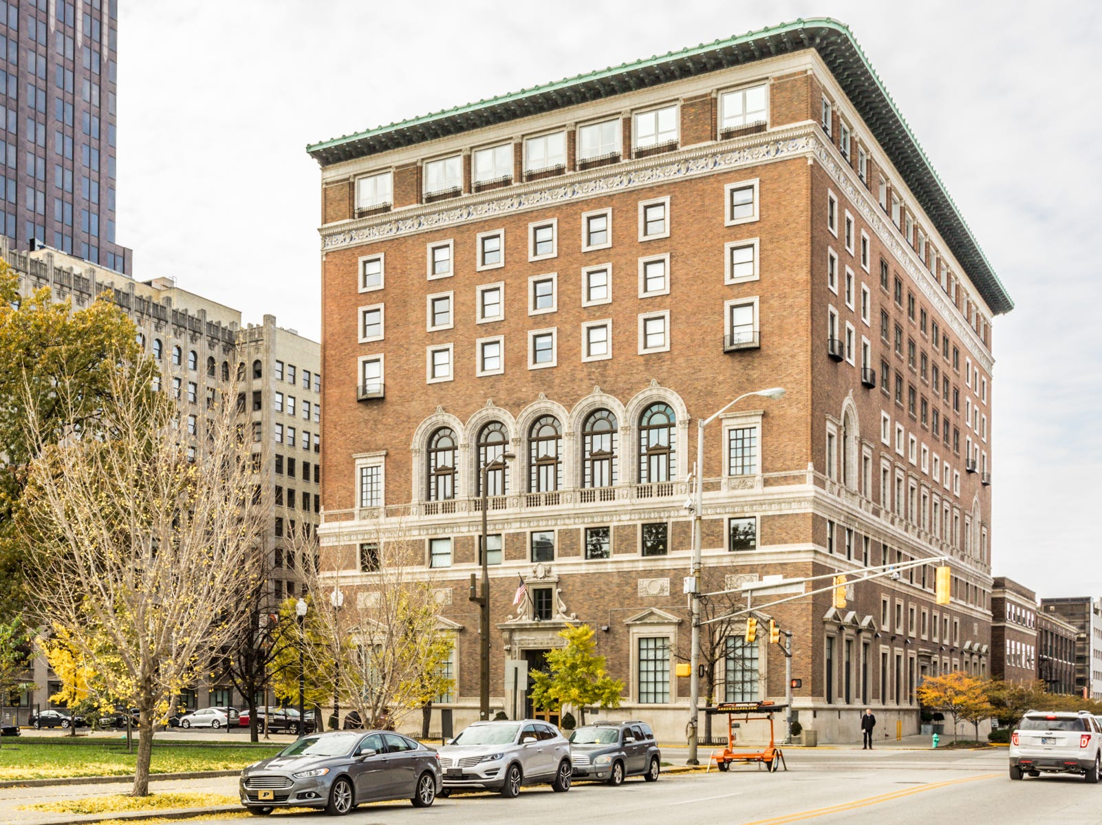 Originally home to the Indianapolis Athletic Club, the building was turned into condos about a decade ago.