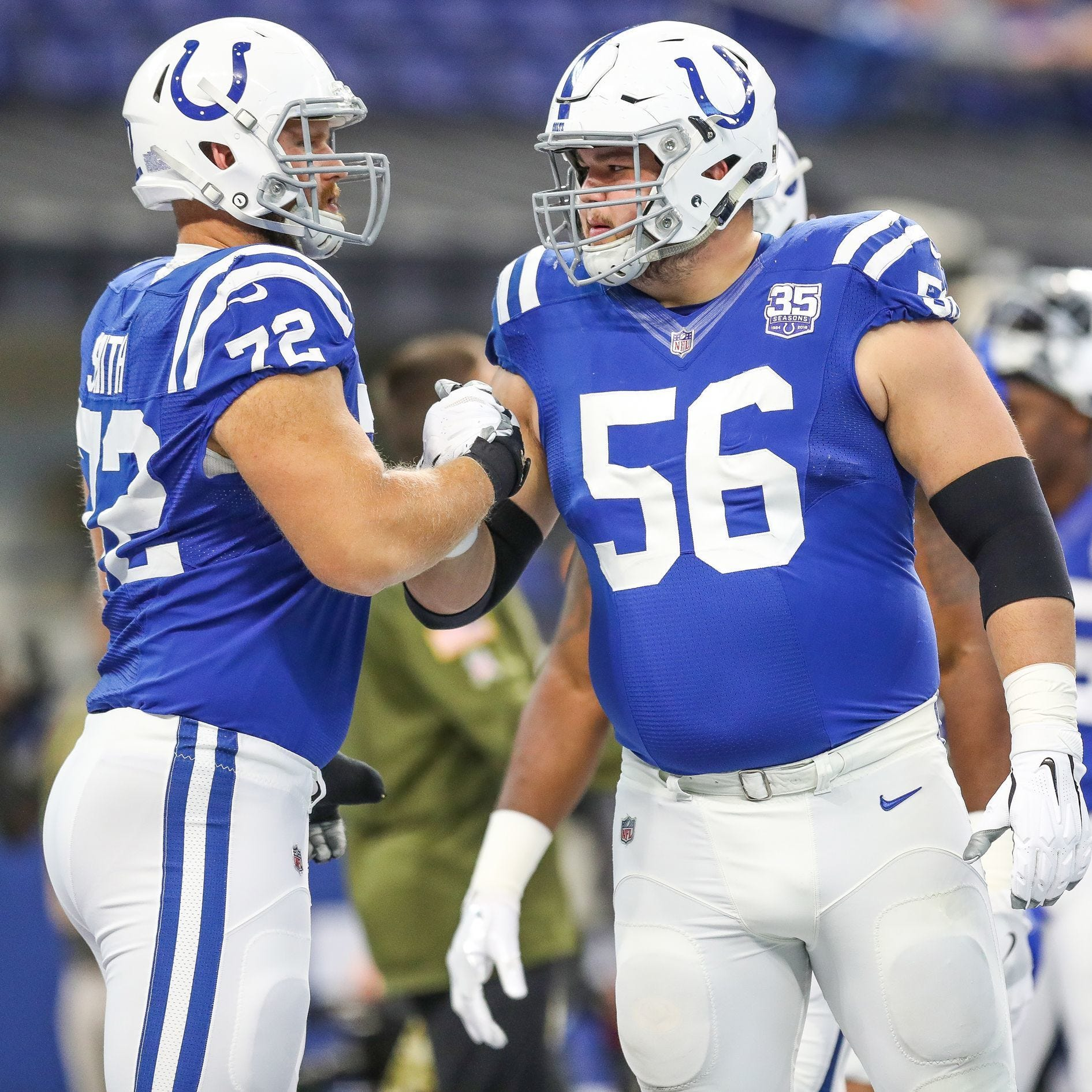 Draft preview: Even with offensive line set, Colts are always going to add up front