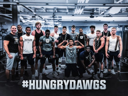 Butler players show off the results of an offseason with a new strength coach.