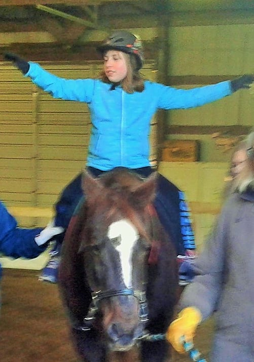 Kid On Horse 2