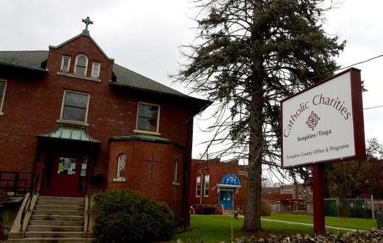 Catholic Charities of Tompkins/Tioga in Ithaca on Thursday, November 29, 2018.
