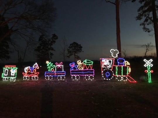 The Holiday Festival of Lights at The Cove is free and open the last half of December.