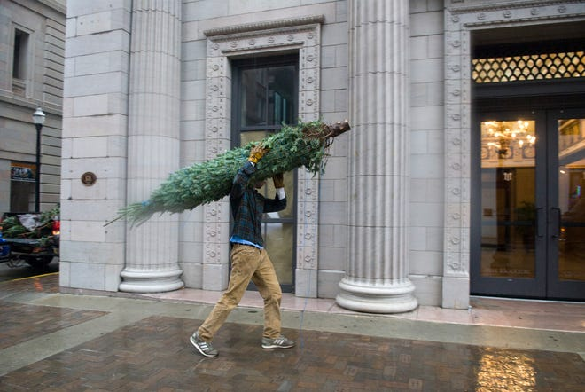 What do you with your cut Christmas tree at the end of the season?Knox County offers several options.