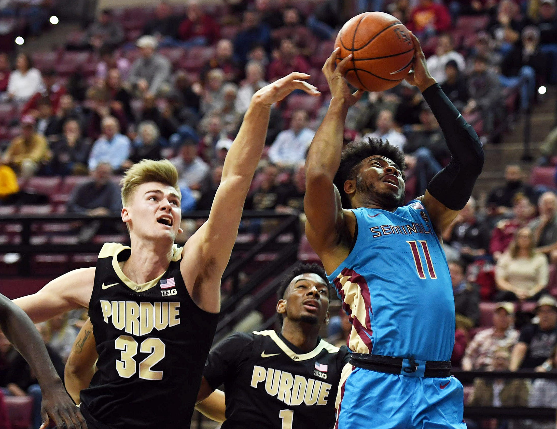 Ncaa Basketball Purdue At Florida State