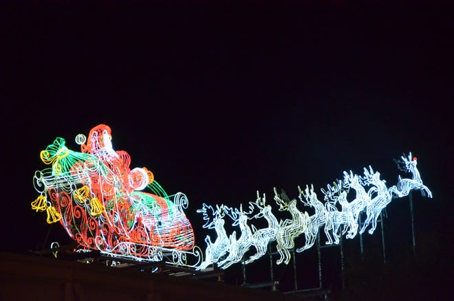 The Festival of Lights returns to the Oil Center Friday.