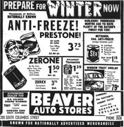 This ad ran in the Nov. 12, 1952 Lancaster Eagle-Gazette.