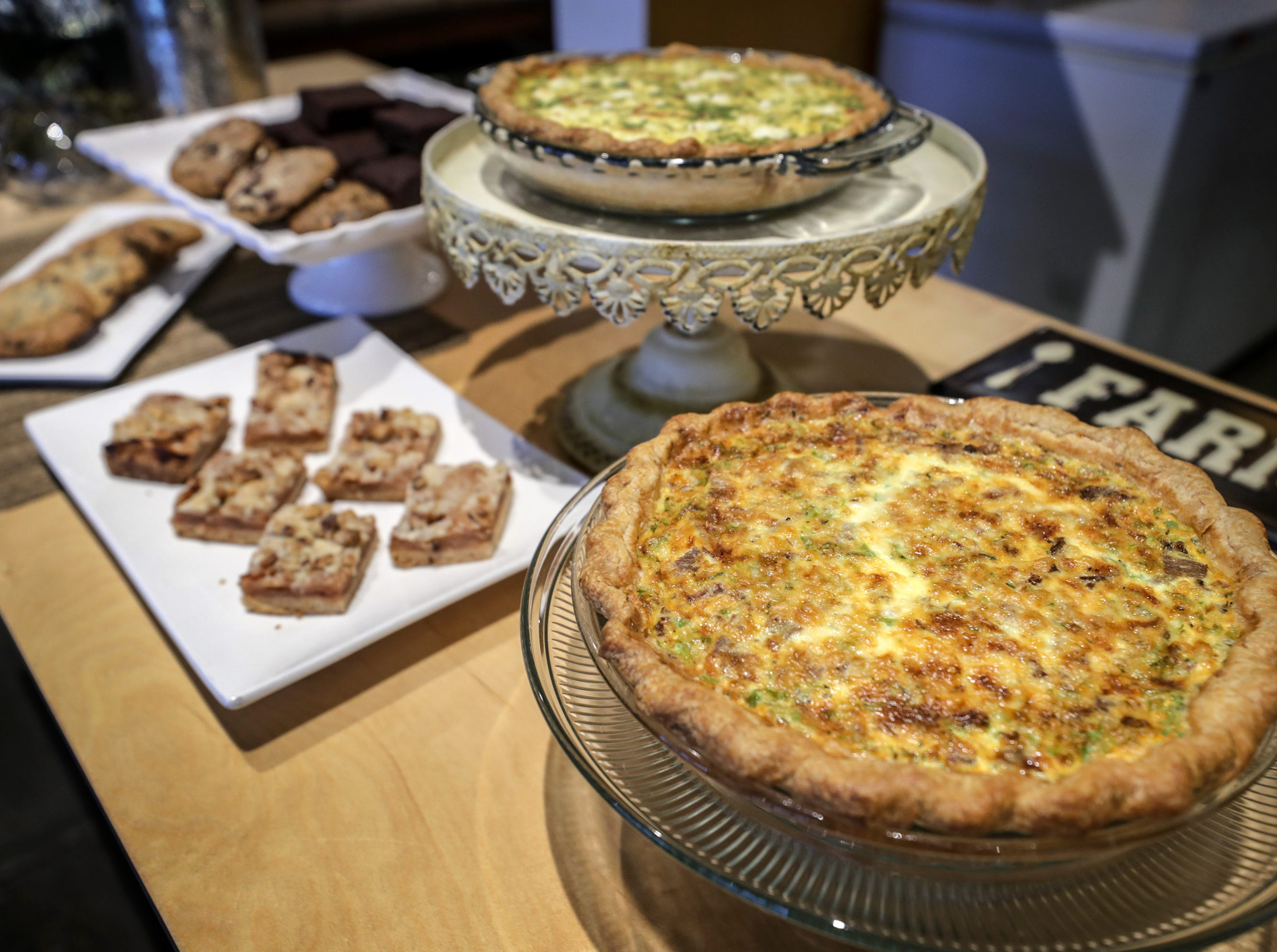 Some of the offerings at Farm To Fork in Portland.