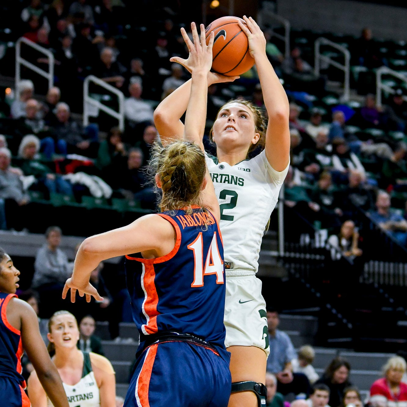 Surgeries behind her, Ithaca's Kayla Belles ready to contribute for Michigan State women