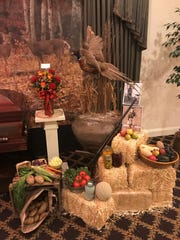 A vignette created by Pray Funeral Home for the death of Sterling Treadwill, 98, illustrating his interests in hunting, the farm and his massive garden.  His funeral was Nov. 19,  2018.