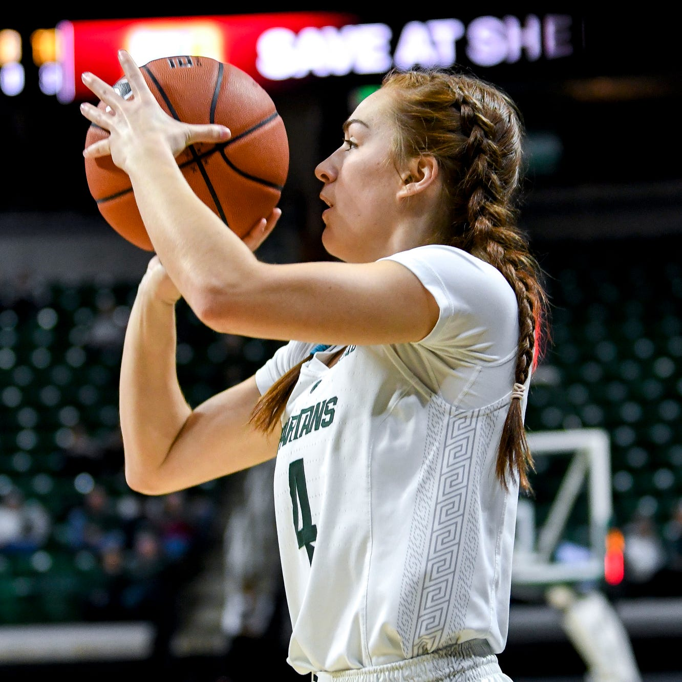 Offensive struggles hurt No. 17 Michigan State women's basketball in loss to Ohio State