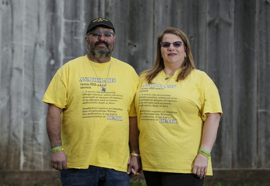 George and Angel Mueller on their farm Nov. 16 in Mishicot. After getting Dillon's Law passed in Wisconsin, the Muellers now focus their efforts on getting other states to pass similar laws.