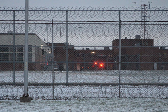Ambulances were at Marion Correctional Institution Thursday after receiving reports that three staff members were exposed to what is believed to be fentanyl.