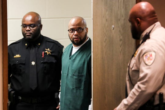 November 29 2018 - Billy Ray Turner appears in Judge Lee Coffee's courtroom where a trial date of Sept. 16, 2019 was set. Sherra Wright and Billy Ray Turner are charged with first-degree murder in Lorenzen Wright's July 2010 shooting death.