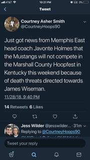 A screenshot of the tweet