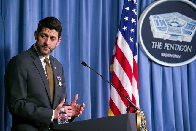House Speaker Paul Ryan of Janesville.