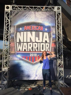 Brittany Holterman is auditioning for the TV show American Ninja Warrior.