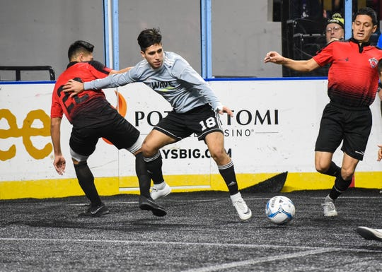 Isaac Pereyra has played his way into a larger role since make the Wave via tryout.