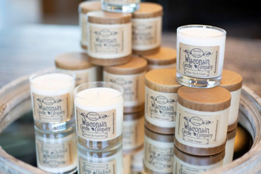 Wisconsin Candle Company sells small-batch, hand-poured soy wax candles with no additives, dyes or petroleum byproducts.