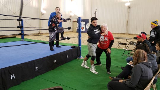 Among the big names Kal Herro has received instruction from during his pro wrestling training is Ricky Morton, a 2017 inductee into the WWE Hall of Fame. He and partner Robert Gibson once teamed up to form the Rock n' Roll Express, considered to be one of the best tag teams of all time.