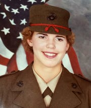 From 1984 to 1989, Stephanie Herfel served in the United States Marine Corps.