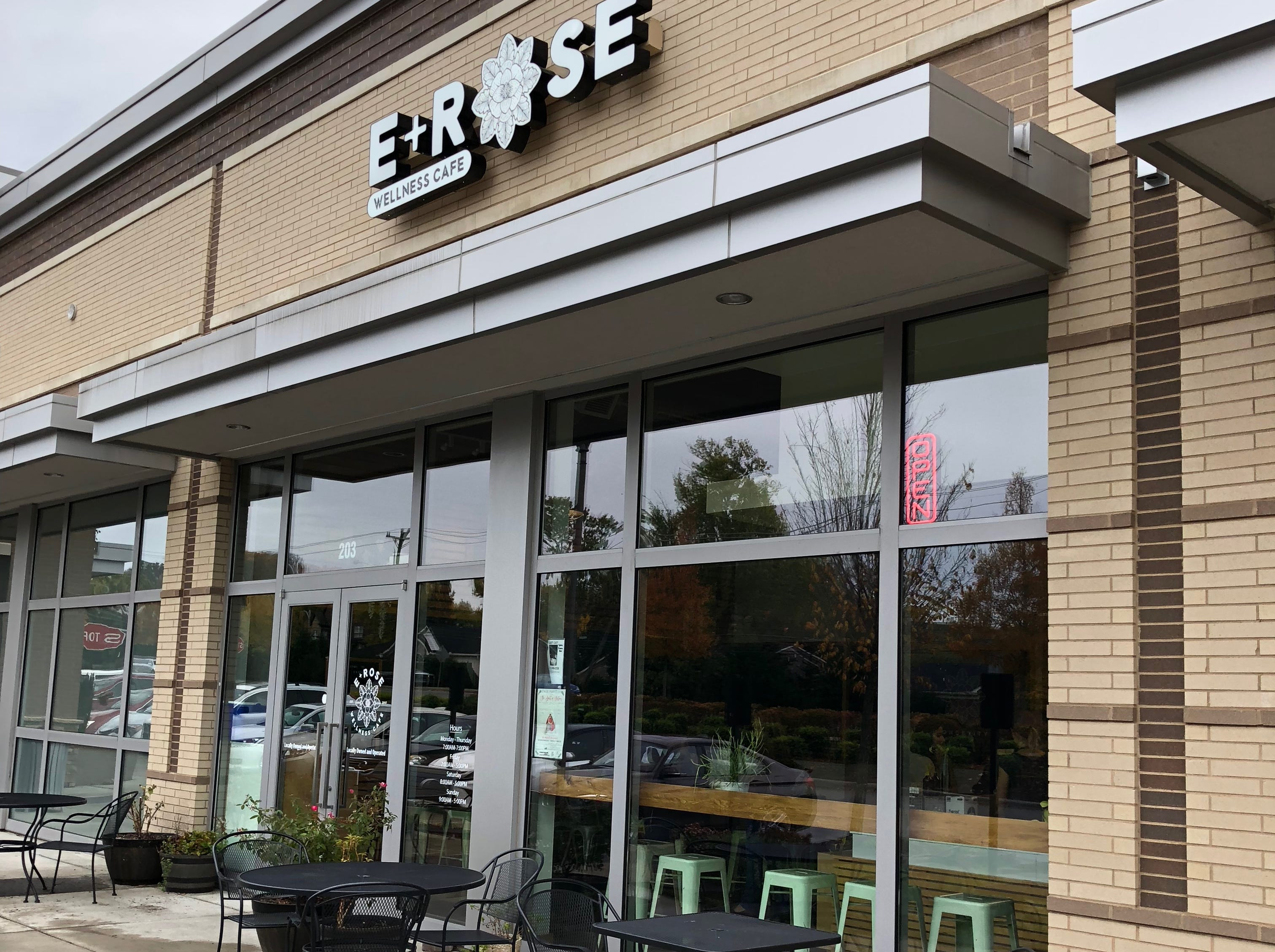 E + Rose has locations on Old Hickory Boulevard in Brentwood, shown here, and in Nashville at 211 Third Ave. S.