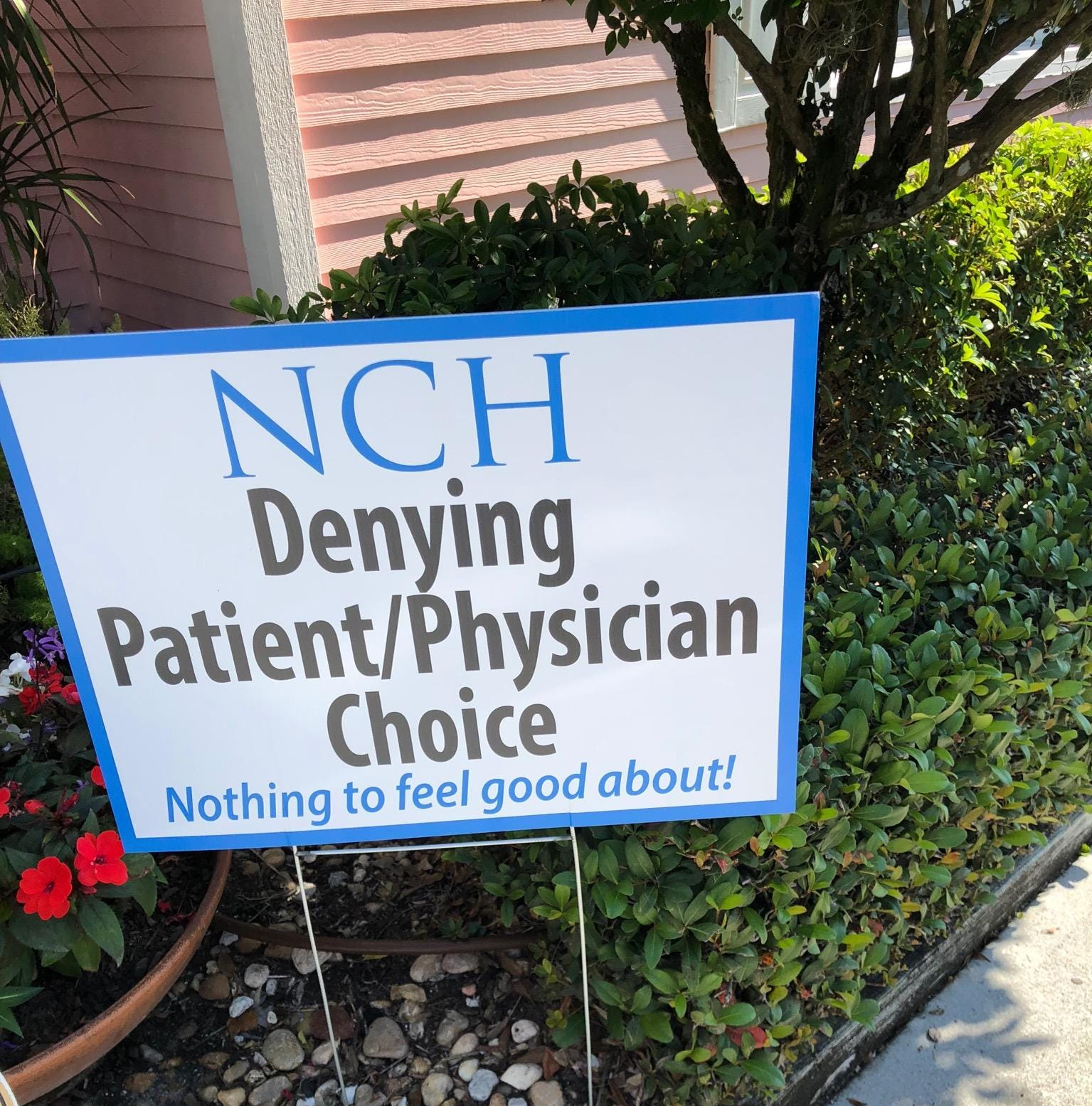 Attorneys demand NCH Healthcare System rescind admissions change